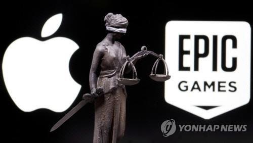 """美 법원 """"애플 앱스토어에서만 앱 구매 강제는 반경쟁적 조치"""""""